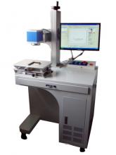 台式光纤激光打标机减速机机械配件激光刻字机打码机金属产品激光打标机